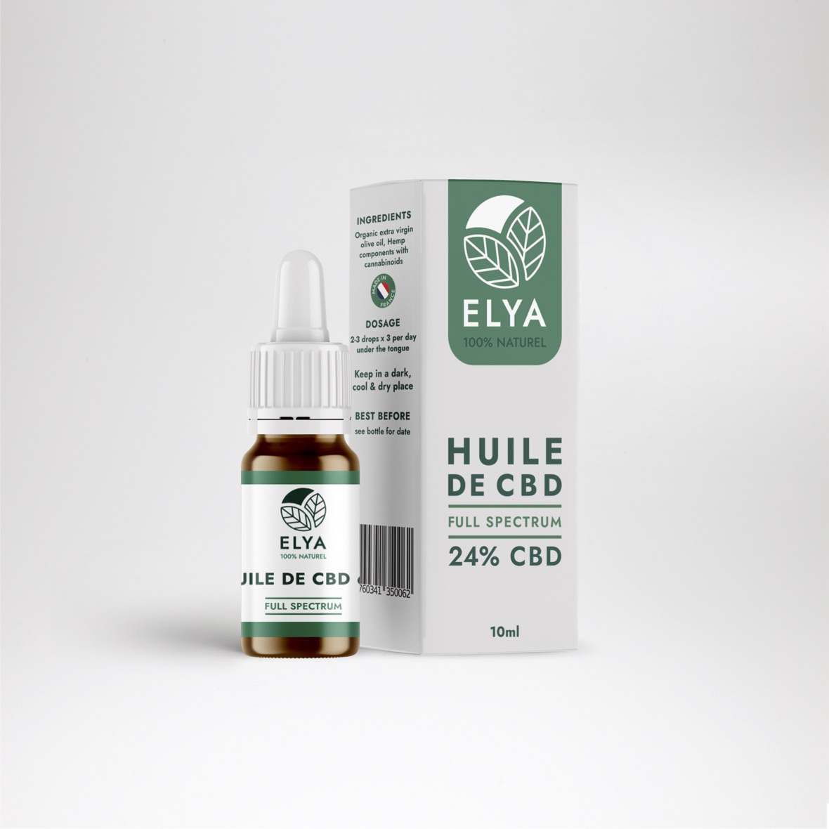 elya huile cbd bio france Full spectrum 24